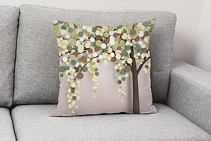 3D Подушка «Дерево богатства» вид 4
