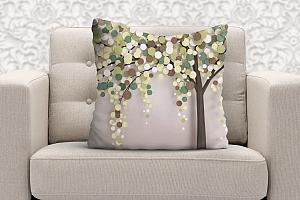 3D Подушка «Дерево богатства» вид 5