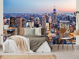 3D фотообои 3D Фотообои  «Нью-Йорк: небоскребы»  вид 4