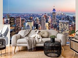 3D фотообои 3D Фотообои  «Нью-Йорк: небоскребы»  вид 6