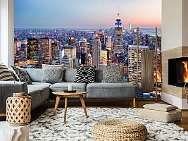3D фотообои 3D Фотообои  «Нью-Йорк: небоскребы»  вид 7