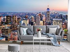 3D фотообои 3D Фотообои  «Нью-Йорк: небоскребы»  вид 8