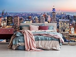 3D фотообои 3D Фотообои  «Нью-Йорк: небоскребы»  вид 9