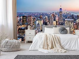 3D фотообои 3D Фотообои  «Нью-Йорк: небоскребы»  вид 10