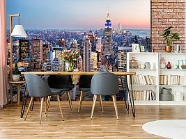 3D Фотообои  «Нью-Йорк: небоскребы»  вид 9