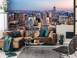 3D Фотообои  «Нью-Йорк: небоскребы»  вид 7