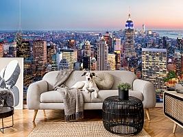 3D Фотообои  «Нью-Йорк: небоскребы»  вид 4