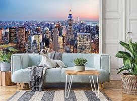 3D Фотообои  «Нью-Йорк: небоскребы»  вид 2