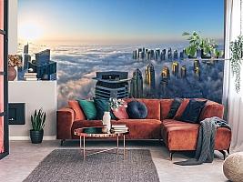 3D фотообои 3D Фотообои  «Туман над Дубаем»  вид 5