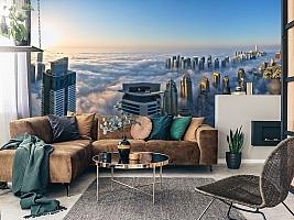 3D фотообои 3D Фотообои  «Туман над Дубаем»  вид 11