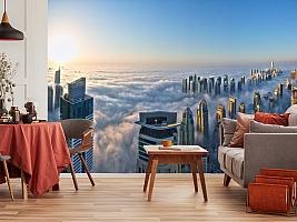3D Фотообои  «Туман над Дубаем»  вид 10