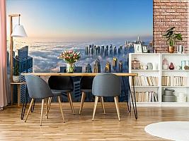3D Фотообои  «Туман над Дубаем»  вид 9