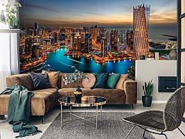 3D Фотообои  «Ночной Дубай»  вид 7