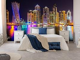 3D Фотообои  «Огни Дубая»  вид 8