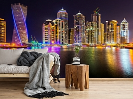 3D Фотообои  «Огни Дубая»  вид 5