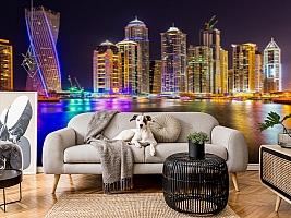 3D Фотообои  «Огни Дубая»  вид 4