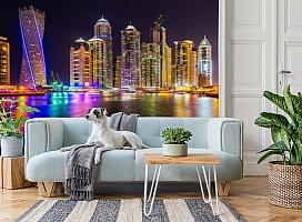 3D Фотообои  «Огни Дубая»  вид 2