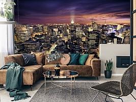 3D Фотообои  «Ночной Манхэттен»  вид 7