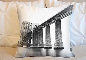 3D Подушка «Железнодорожный мост»