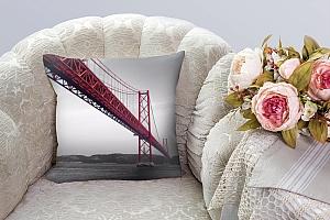 3D Подушка «Мост Золотые ворота» вид 3