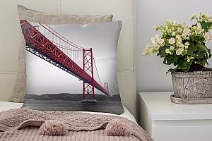 3D Подушка «Мост Золотые ворота» вид 4