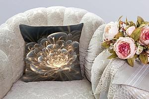 3D Подушка «Магический цветок» вид 3