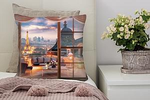 3D Подушка «Романтичный вечер»