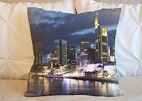 3D Подушка «Городские огни»