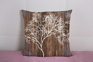 3D Подушка «Дизайнерское дерево» вид 2