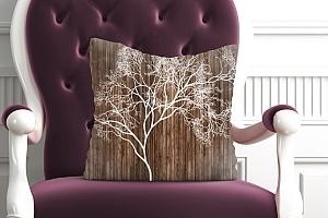 3D Подушка «Дизайнерское дерево» вид 5