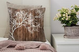 3D Подушка «Дизайнерское дерево»