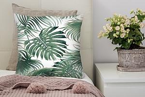 3D Подушка «Листья папоротника»