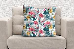 3D Подушка «Тропические цветы» вид 5