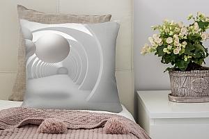 3D Подушка «Жемчужины в арочном тоннеле»