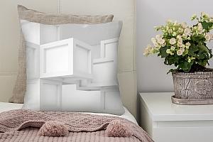 3D Подушка «Кубическая абстракция» вид 2