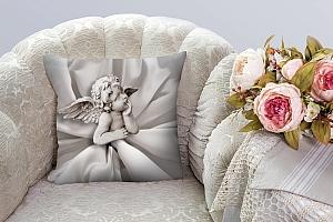 3D Подушка «Задумчивый ангелочек» вид 5