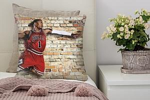 3D Подушка «Баскетболист в прыжке»