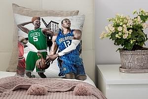 3D Подушка «Звезды баскетбола»