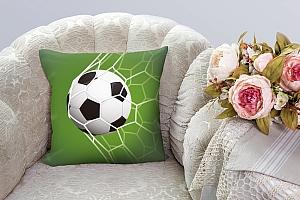 3D Подушка «Мяч в сетке» вид 3