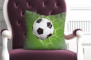 3D Подушка «Мяч в сетке» вид 4