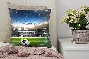 3D Подушка «Стадион в бразилии»
