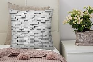 3D Подушка «Объемные блоки» вид 2