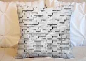 3D Подушка «Объемные блоки» вид 5