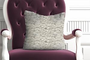 3D Подушка «Светлый декоративный камень» вид 4