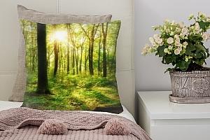 3D Подушка «Лесная панорама»