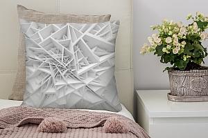 3D Подушка «Объемная паутина»