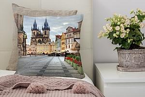 3D Подушка «Прага»