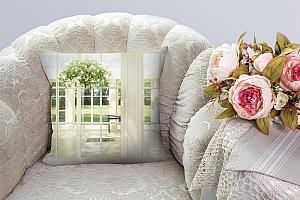 3D Подушка «Светлая веранда» вид 4