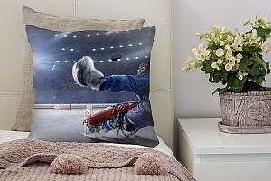 3D Подушка «Хоккейный вратарь»