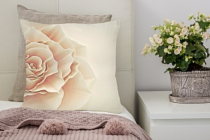 3D Подушка «Изысканная роза»